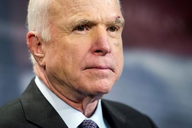 John McCain Says His Cancer Prognosis Is Poor
