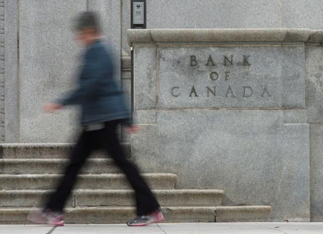 Bank of Canada increases overnight rate target to 1 per cent