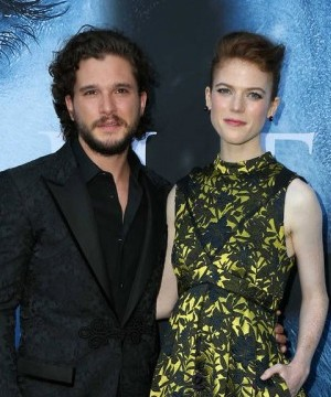 Game of Thrones couple Kit Harington and Rose Leslie are reportedly engaged.