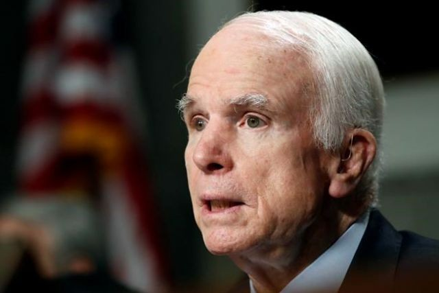 I am fighting vicious Brain Cancer - Sen. McCain
