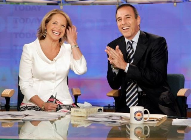 Katie Couric breaks silence on Matt Lauer's Today show firing class=