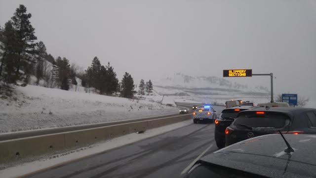 Traffic moving on Hwy 97 - Vernon News - Castanet net
