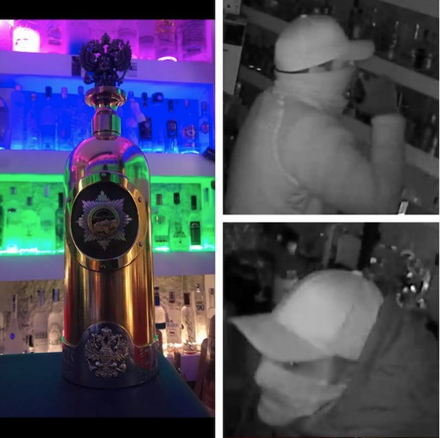 World's most expensive bottle of vodka stolen from Danish bar