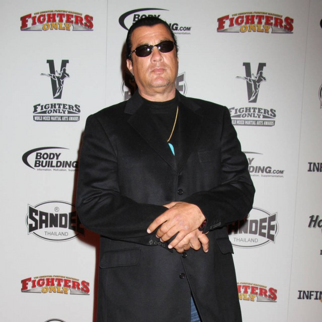Actress accuses Steven Seagal of sexual assault
