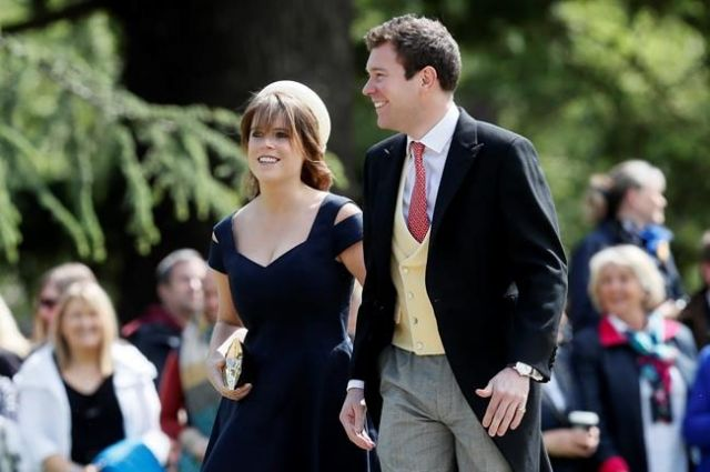 Eugenie wedding: George and Charlotte among pageboys and bridesmaids