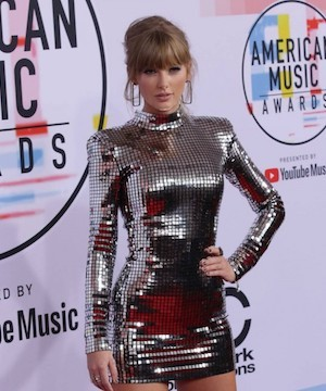 Taylor Swift becomes most decorated female artist in American Music Awards history.
