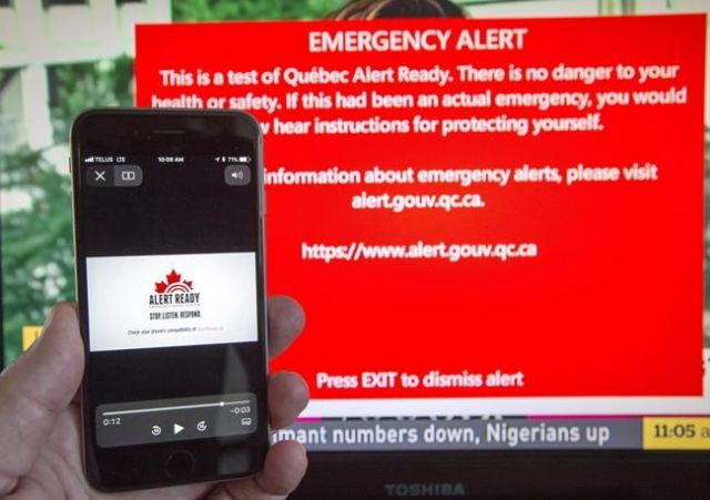 Alert Ready system pings mobile users across Canada
