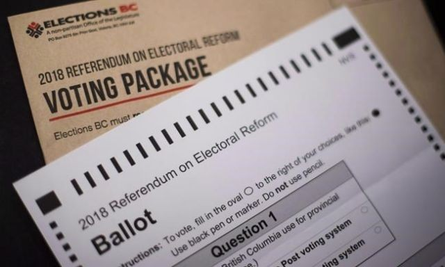 Voting period for electoral reform referendum extended due to postal strike