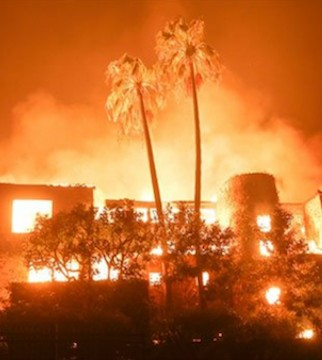 Celebrities whose homes have been damaged or destroyed in a Southern California wildfire or were forced to flee.