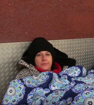 Castanet's Madison Erhardt took to the streets to see how the homeless are coping with the cold temperatures.