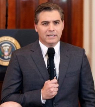 The Trump administration is threatening to again suspend White House press credentials for CNN reporter Jim Acosta.
