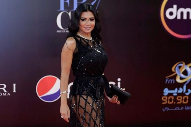 Egyptian actress faces five- year prison term for wearing a sexy dress