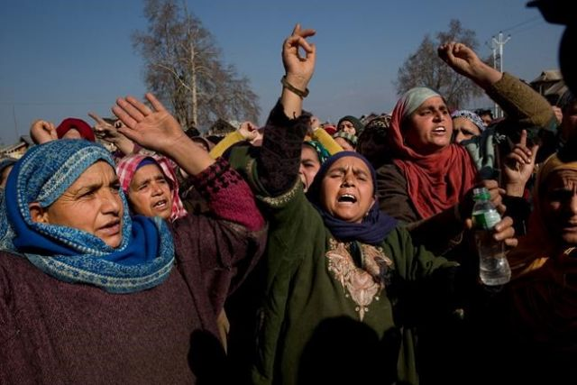 Eleven dead as gunfight sparks protests in Indian Kashmir, says police