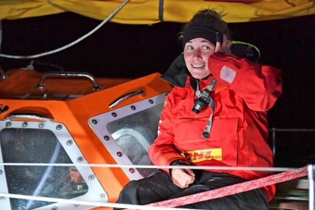British sailor in round-the-world race stranded in storm