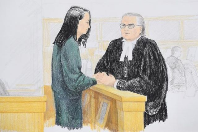 Huawei CFO freed on $7.5 million Dollars bail, Trump may intervene