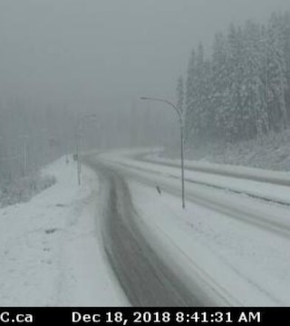 Winter storm or snowfall warnings are in effect in many parts of British Columbia.