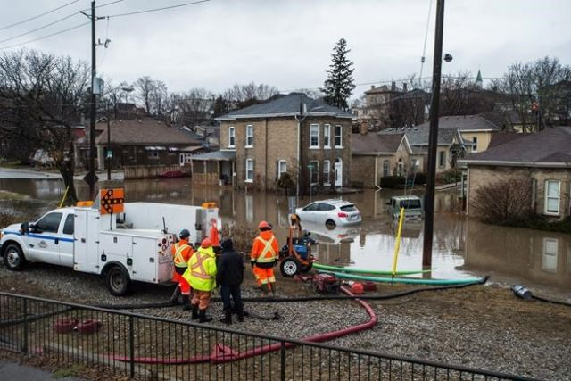 Snow melt, swollen rivers & heavy rain could produce flooding