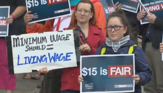 BC to raise minimum wage to $15 by 2021