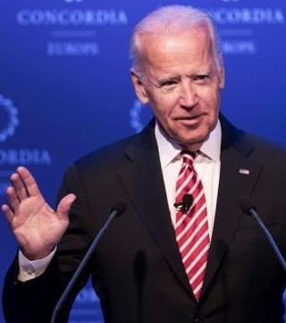 Former U.S. Vice President Joe Biden is hinting at a presidential run in 2020.