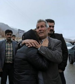 An Iranian airplane crashed Sunday in a foggy, mountainous region of Iran, and officials feared all 65 passengers are dead.