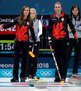 Canada will not win an Olympic medal in women's curling for the first time.