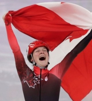 Canadian athletes were all smiles Sunday as they marched in the closing ceremony to the country's best-ever medal count ever.