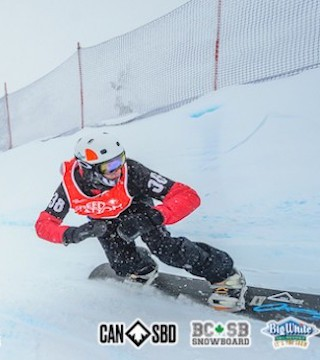Canada's top snowboarders compete at Big White for Speed Nation SBX/Para Nationals.