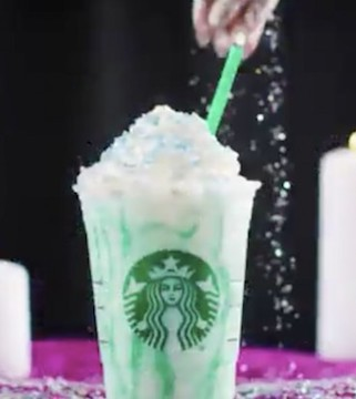 Starbucks has a new specialty drink, which they say may tell your future!