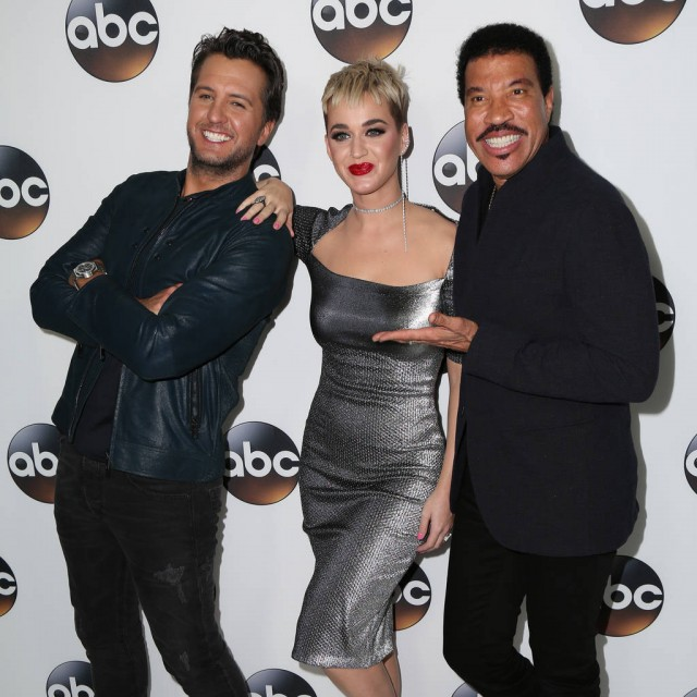 Luke Bryan Katy Perry and Lionel Richie