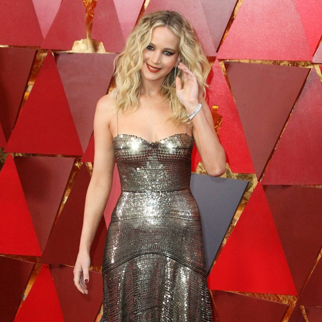 Jennifer Lawrence reveals she never has sex because she's scared of germs