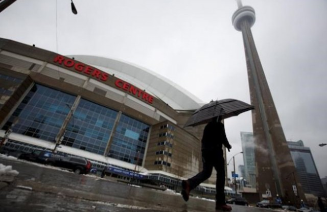 Hole in roof puts Blue Jays game at risk