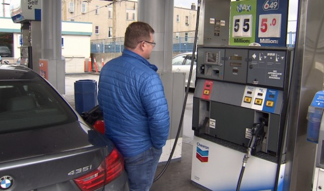 April ends with highest average gas price since 2014