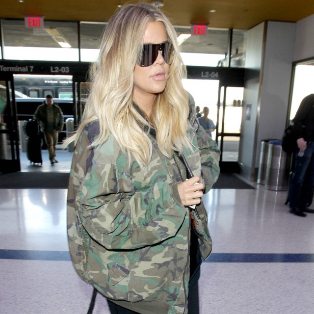 TV celebrity Khloe Kardashian reportedly gives birth