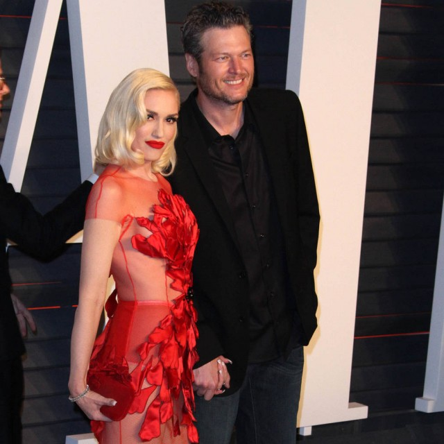 Gwen Stefani Awkwardly Discusses Blake Shelton's Ex on 'Jimmy Kimmel'