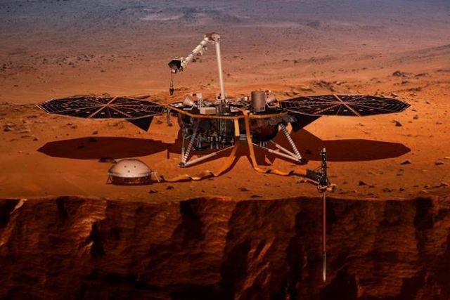 NASA plans to launch spacecraft to study 'heart' of Mars Saturday morning