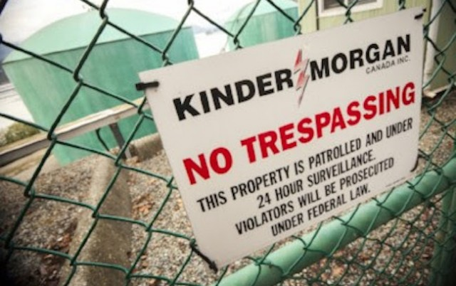 Hundreds protest Kinder Morgan at double Burnaby-Whistler events