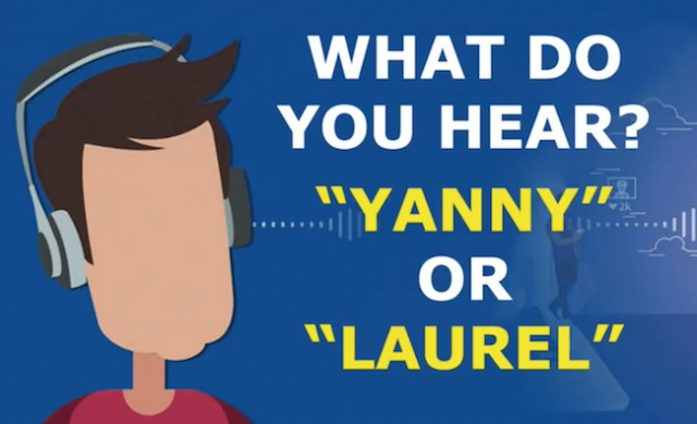 The White House is also distracted by Yanny/Laurel social media storm