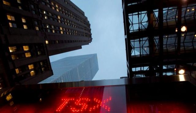 Toronto stock index hits record high