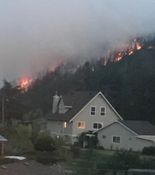 There are still 113 home evacuated across the Okanagan Saturday, due to the Mount Eneas wildfire.