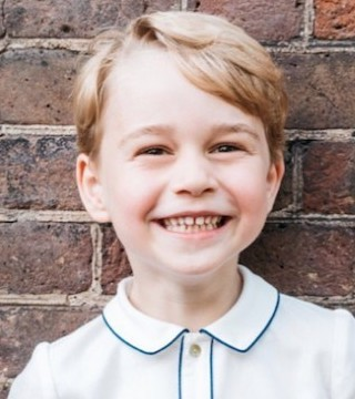 Britain's Prince William and his wife Kate have released a new photo of their son Prince George to mark his fifth birthday.