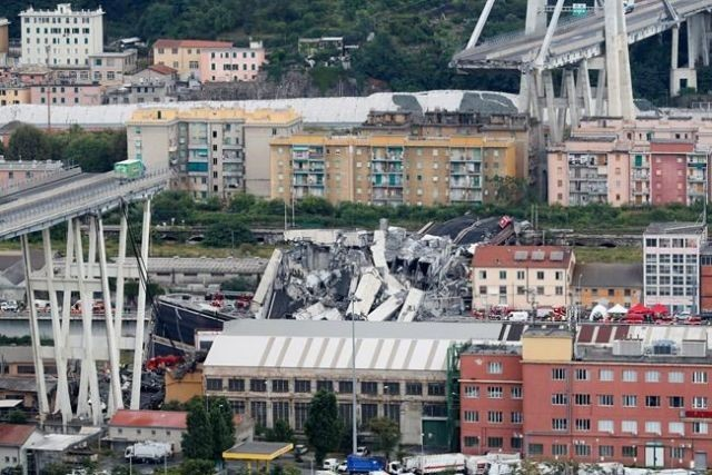 €5bn wiped off Italian bridge operator Atlantia after Genoa disaster