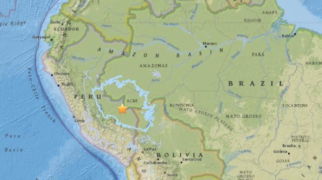 7.1-magnitude quake reported on border of Peru and Brazil