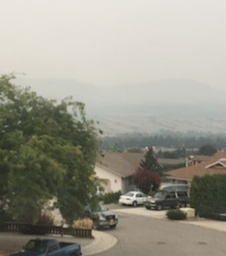 Smoke continues to linger in the Okanagan, leaving many to wonder when it will dissipate – including local business owners.