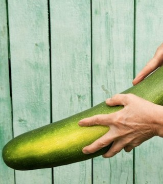 Man charged with rubbing vegetables on his bare behind and putting them back on display!?