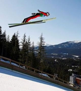 The IOC says it's OK for Calgary to hold ski jumping outside the province of Alberta.