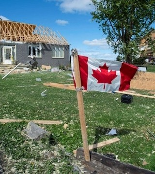 Environment Canada has confirmed that the Ottawa area was hit by two tornadoes late Friday afternoon.