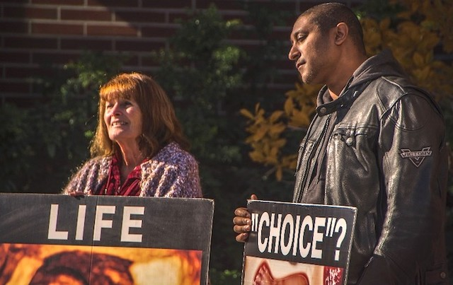 Anti-abortion displays to shock at Okanagan College, UBCO (Kelowna)