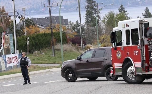 RCMP have Gellatly Road closed at both ends on WFN land - West Kelowna News