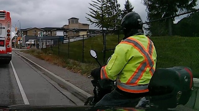 Granny and scooter driver get into road rage scuffle (Kelowna)