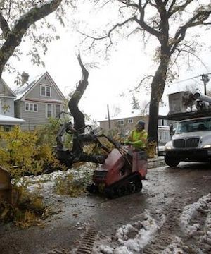 About 13,000 customers still without power days after snowstorm wallops Manitoba.